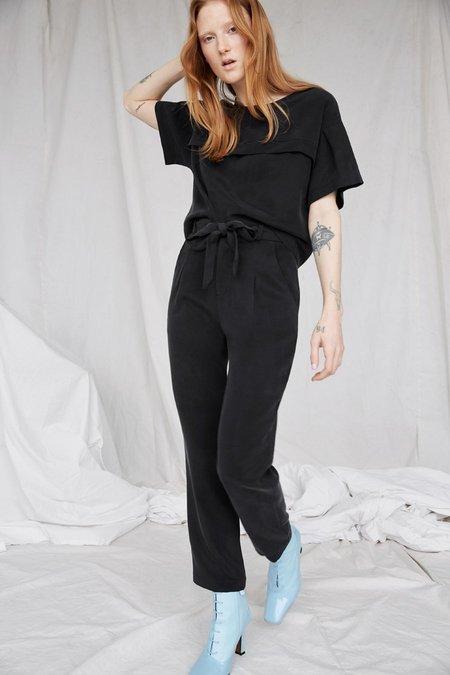 Eve Gravel Lions Eco Pants - Black