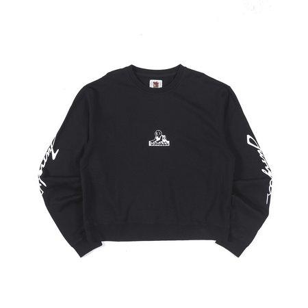 Jungles Logo Smash Fleece - Black/white