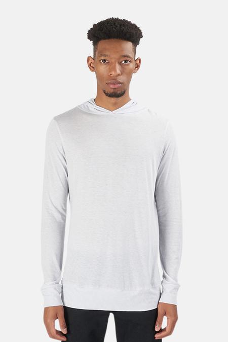Blue&Cream 66 Pullover Hoodie Sweater - Light Grey
