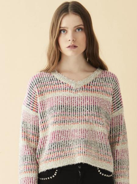 Vilagallo Kia Sweater - Pink Multi
