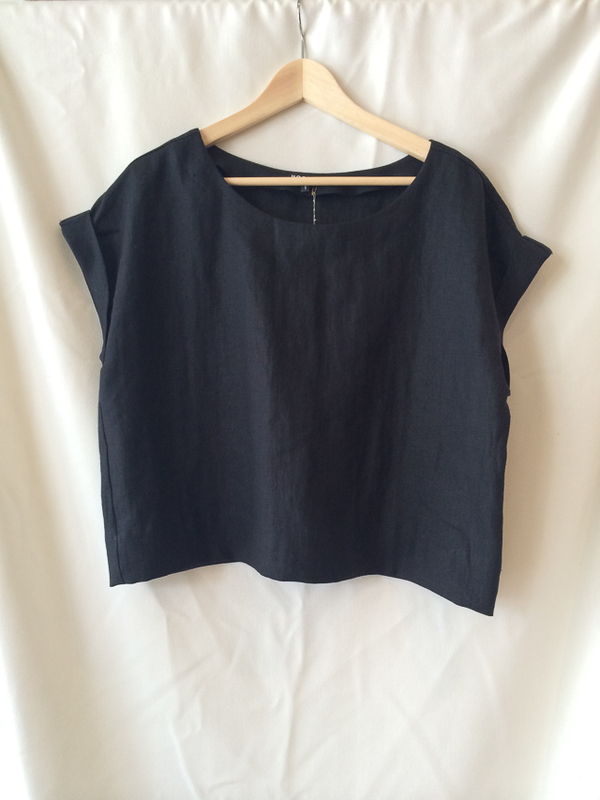 Horses Atelier Crop Sack Top