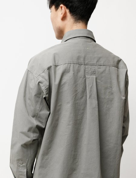 Margaret Howell MHL Oversized Work Shirt - Sage