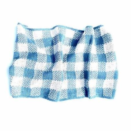 Kids Cabbages & Kings Ny Gingham Scarf - Teal