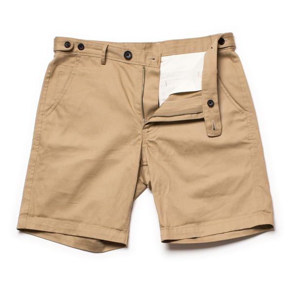 Corridor Khaki Sanded Shorts