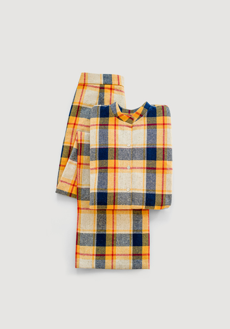 OK KINO Checked woolen suit (set) - Multicolored