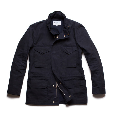 Corridor Waxed Cotton M65 - Navy