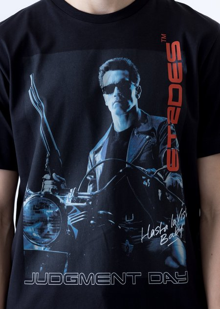 etudes Terminator 2 Edition Hasta La Vista T-Shirt - Black
