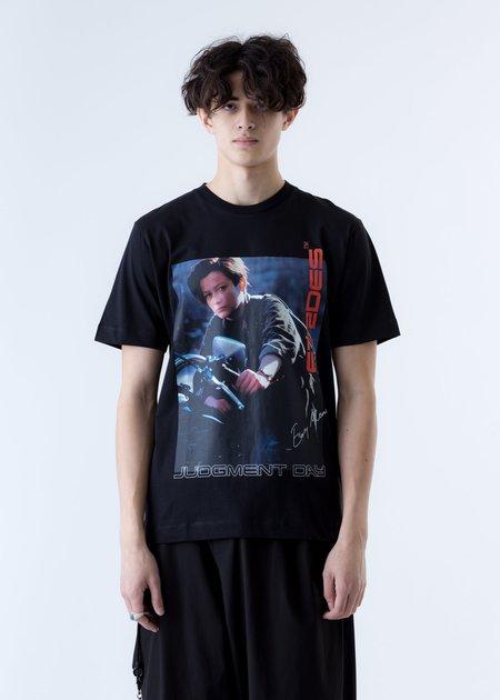 etudes Terminator 2 Edition Wonder Easy Money T-Shirt - Black