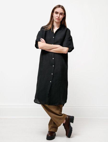 Priory TennSilk Linen Dress - Black