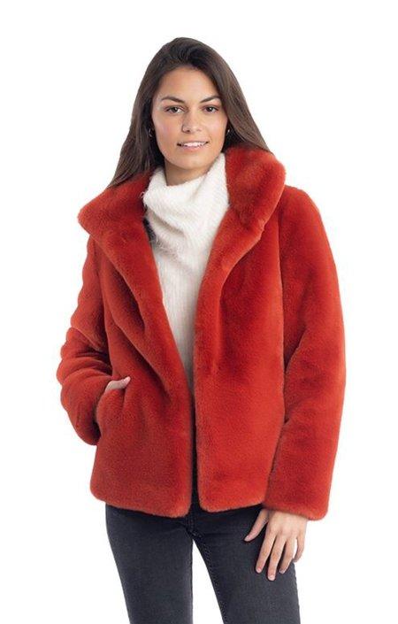 Fabulous Furs Everyday Mink Jacket - Bittersweet