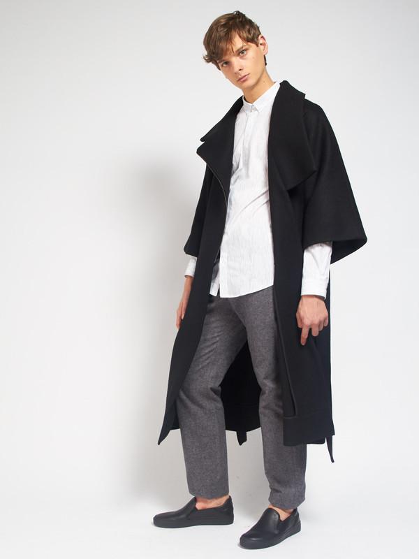 Men's Henrik Vibskov Cape Coat