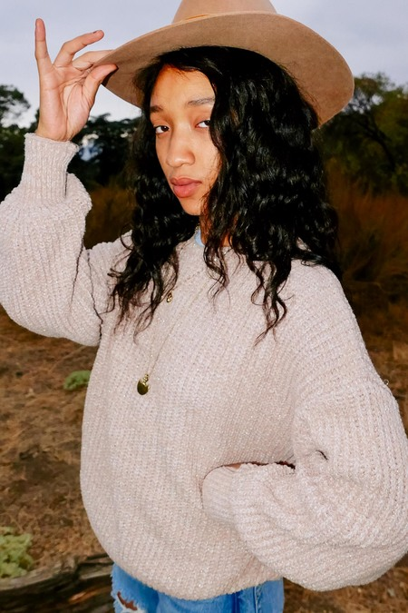 Lost & Wander Lost In Time Sweater - Tan