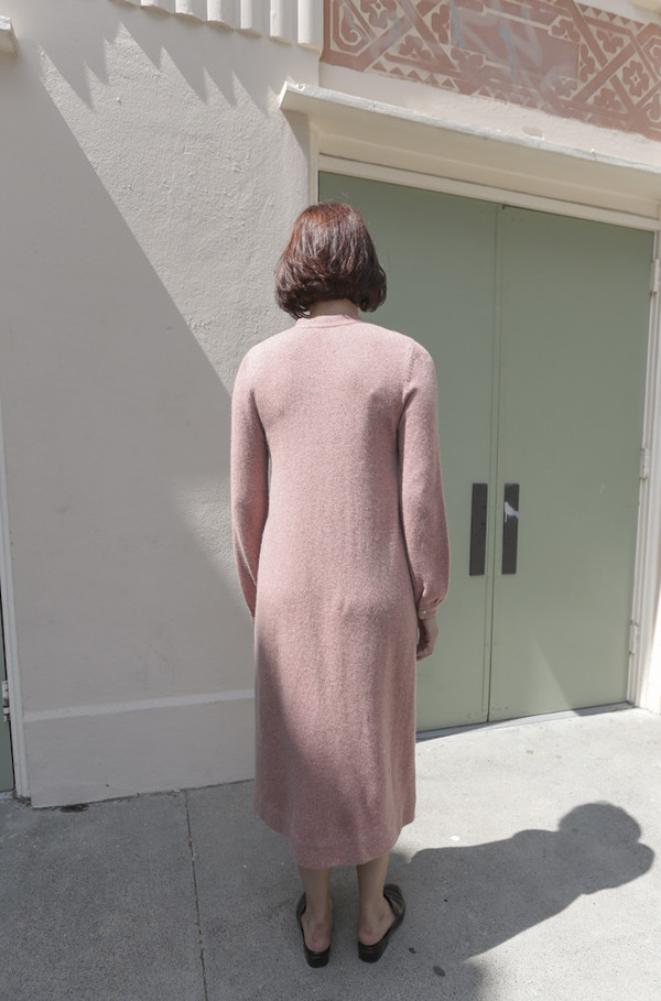Halston Vintage 1970's Cashmere Knit Dress