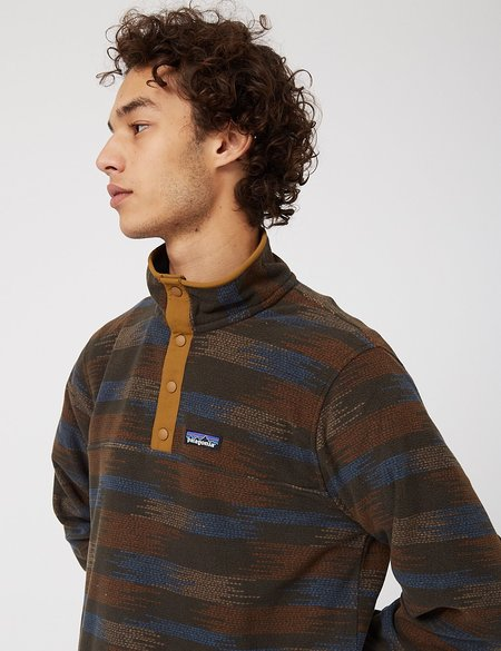Patagonia Micro D Snap-T P/O Native Seeds Fleece - Industrial Green