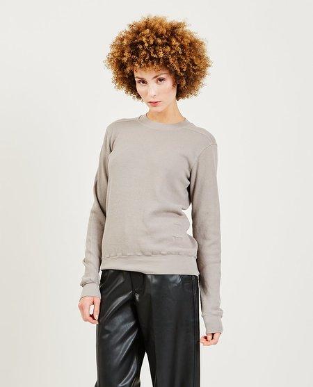 Rick Owens Crewneck Sweatshirt - Gray