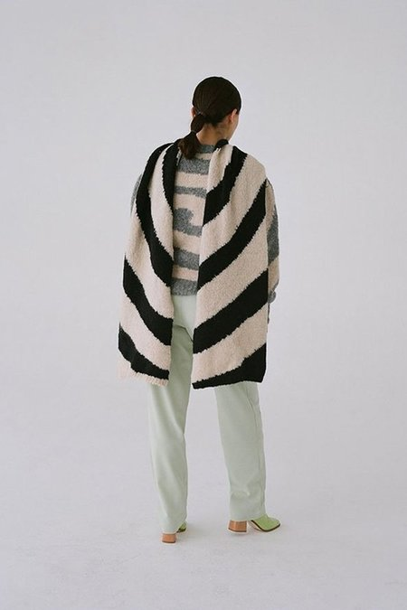 Paloma Wool Dixit Scarf - Black/White
