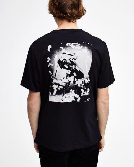 Pop Trading Company SAFE-TRIP POP T Shirt - Black