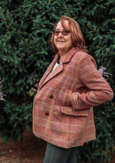 FRNCH Sancia Coat - Old Rose