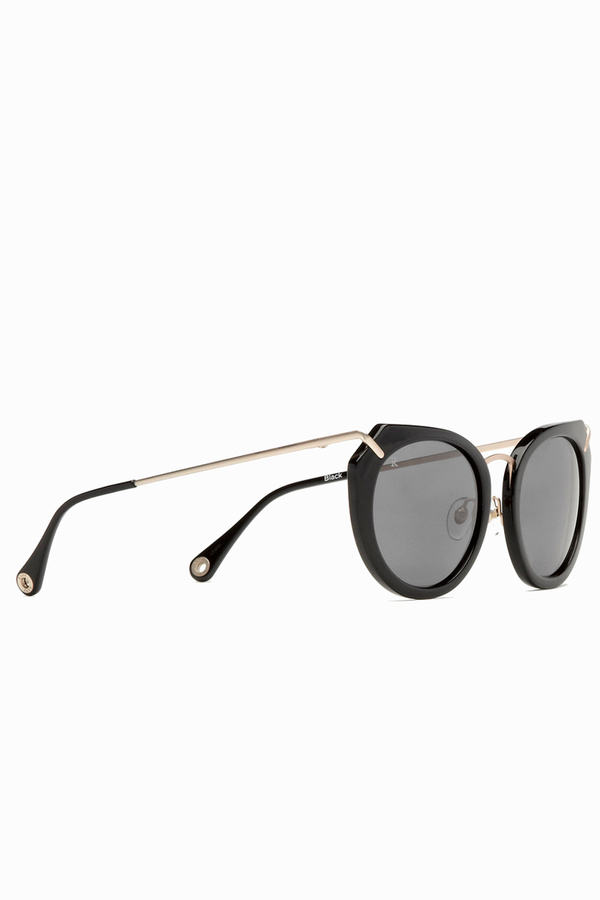 RAEN Pogue Sunglasses- Black/Japanese Gold