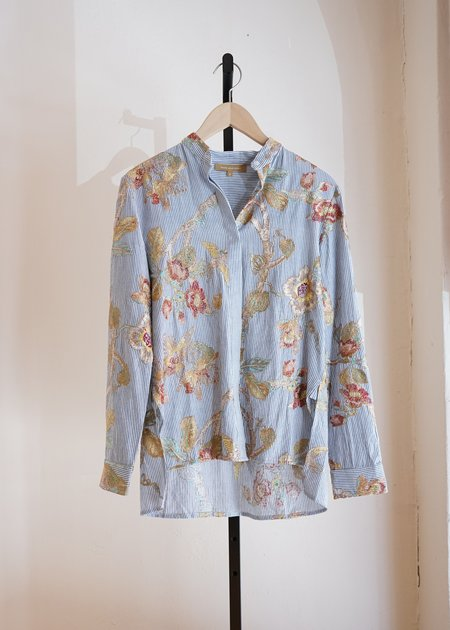 Rose and Rose Arizona Embroidered Top