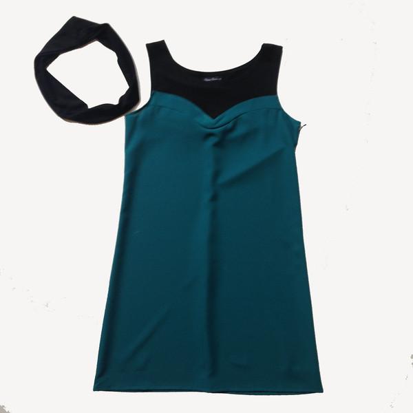 Cherry Bobin SS15 Sleeveless Dress, Turquoise