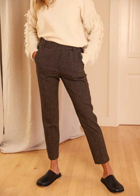 Diega Pacifico Pant - Black/Brown Tweed