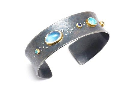 Tony Malmed Jewelry River Bracelet - 18k Gold