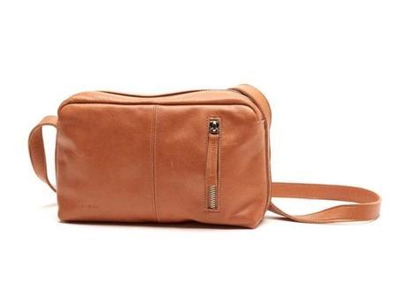 Nimes Tomillo Handbag - Caramel/Saddle