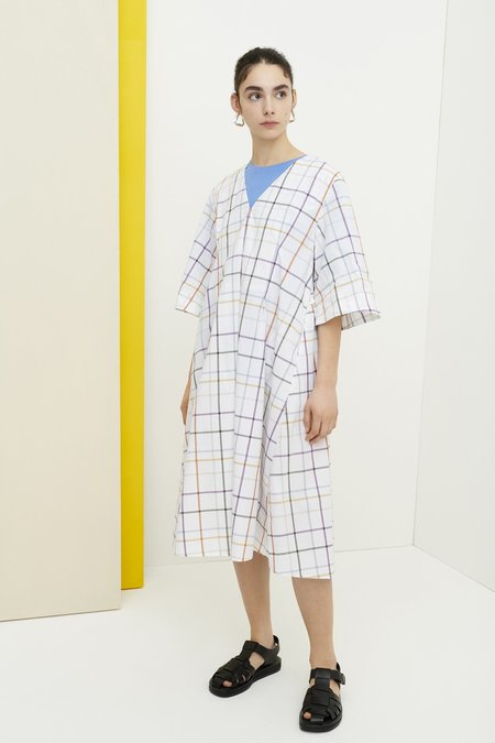 Kowtow Departure Dress - Holiday Check