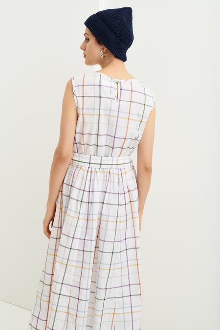 Kowtow Echo Dress - Holiday Check