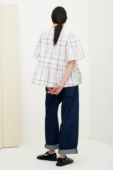Kowtow Goldie Top - Holiday Check