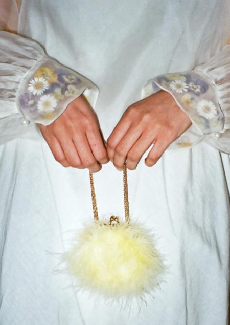 Dauphinette Bon Bon Bracelet Bag: Yolk