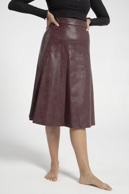 No.6 Stephanie Skirt - Burgundy