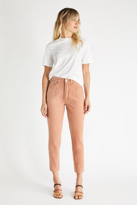 eTica ALEX ANKLE JEAN - COFFEE