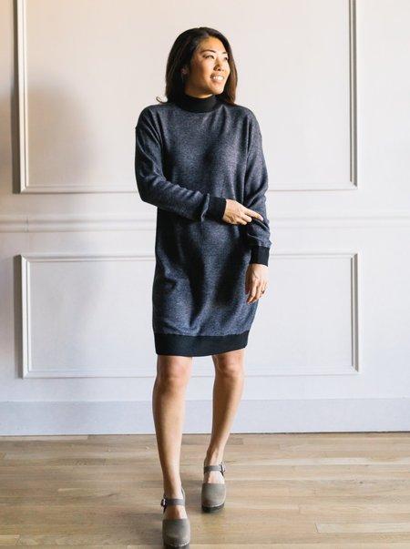 RD STYLE Knit Sweater Dress - Black