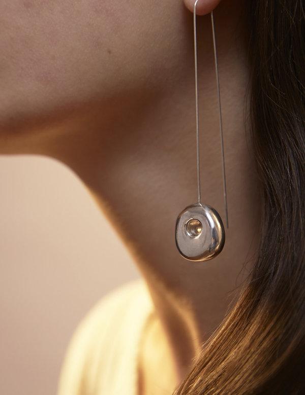 Leigh Miller Sterling Silver Hepworth Drop Earrings