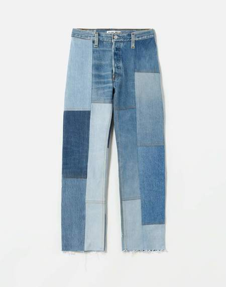 RE/DONE 70s Patched Jean - Patched Indigo Denim