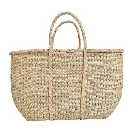 Kids Olli Ella Big Caro Seagrass Basket - Beige