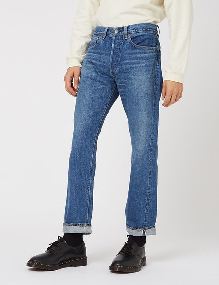 Orslow 105 Standard Fit Jeans 105 - 2 Year Wash