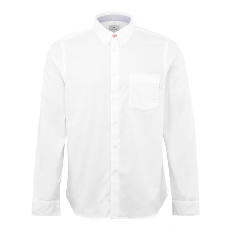 Paul Smith LS Tailored Fit BD Shirt - White