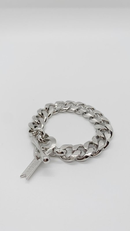 BIKO Rebel Chainlink Bracelet - Silver