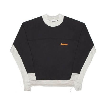 AMBUSH Panel sweatshirt - navy