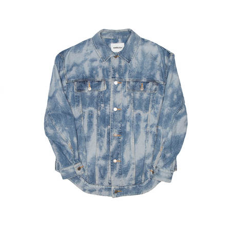 AMBUSH Jacquard denim jacket - blue