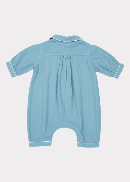 Kids Caramel Baby Pyjamas - Cloud Blue