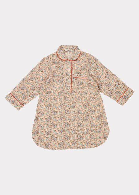 kids Caramel Girl Nightdress - Paisley Print