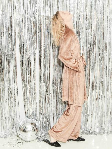 UNDERPROTECTION Sophie Robe - Clay