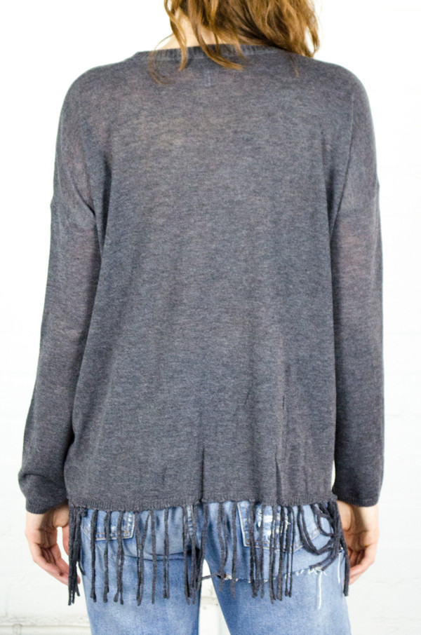 Heartloom Charcoal Astor Sweater