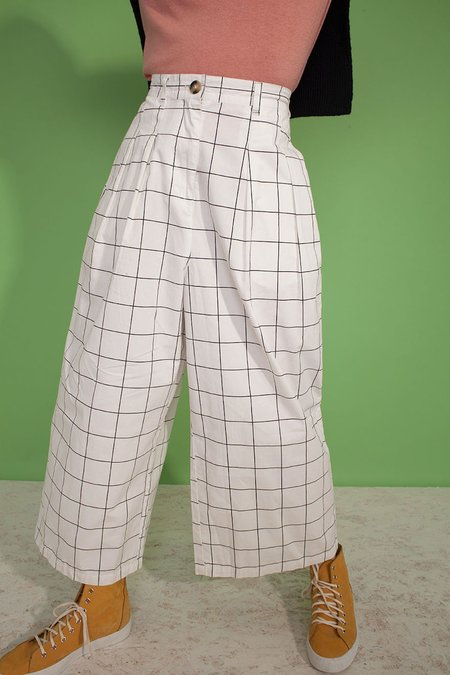 L.F.Markey Jorgen Trousers - Windowpane