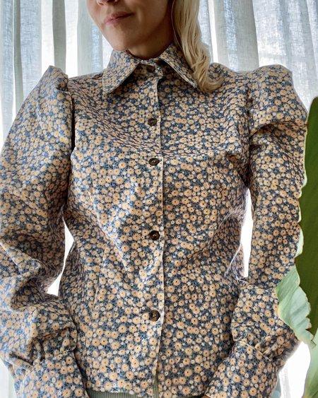 Dragon Diffusion Olenka Corduroy Floral Shirt