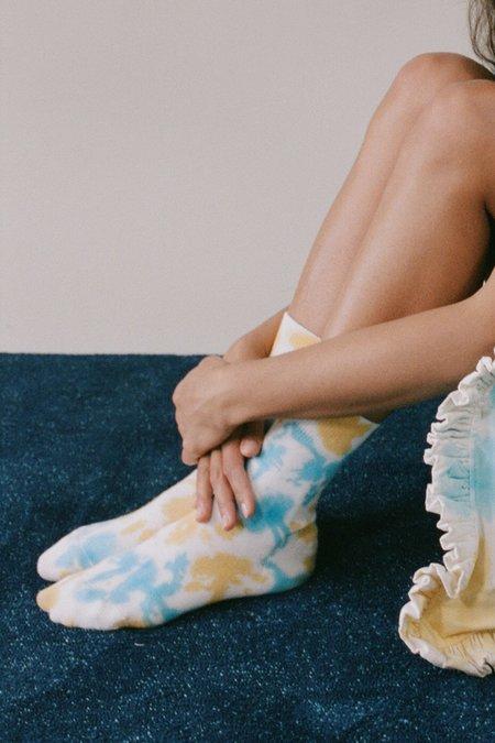Kk Co Studio Sock - Cloud Tie Dye